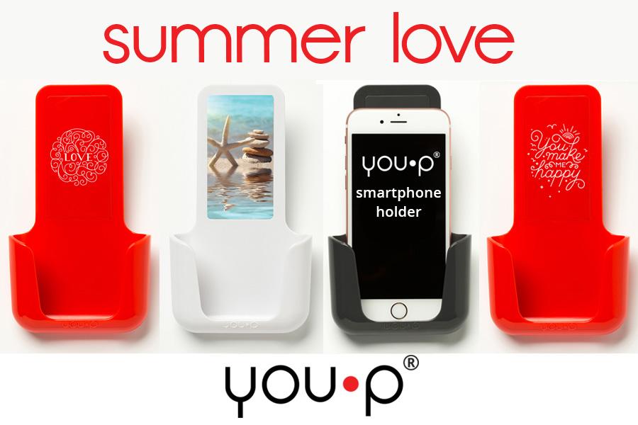 YOU·P telefoonhouder summer love