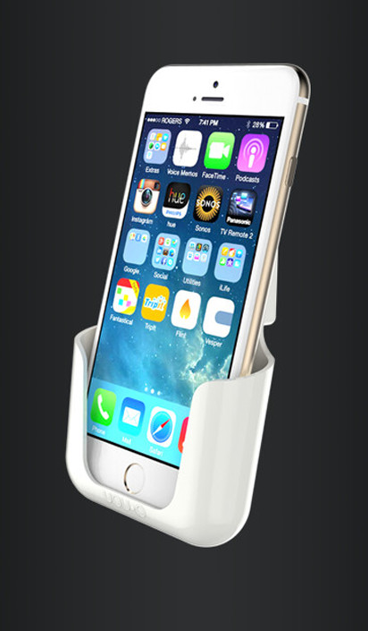 you-p handsfree | smartphonehouder - phone in holder