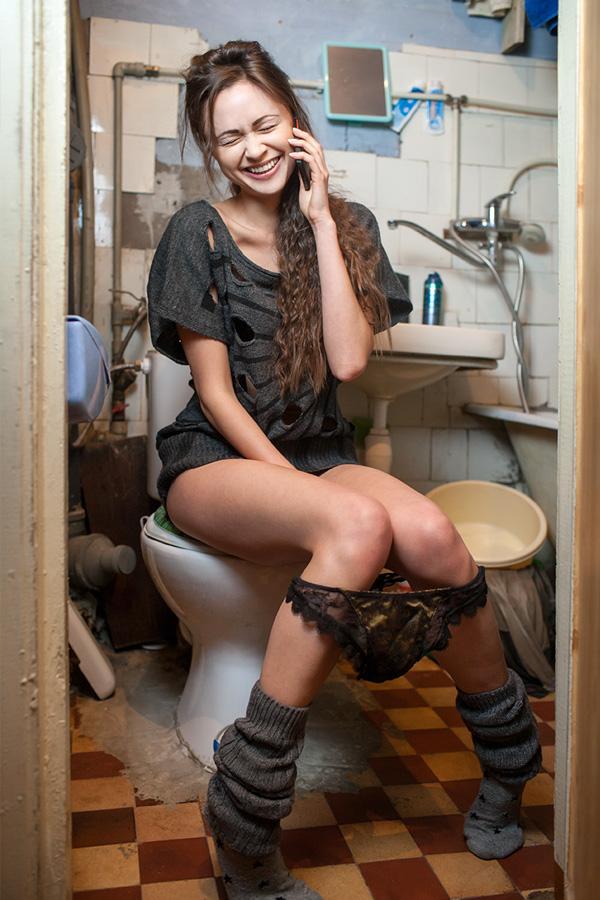 smartphonegebruik telefoongebruik toilet wc you-p telefoonhouder