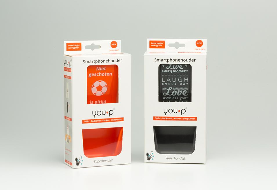 you-p telefoonhouder smartphonehouder smartphone houder toilet