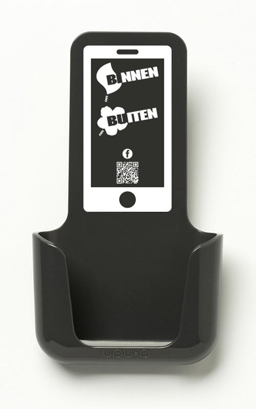 YOU-P telefoonhouder smartphone holder toilet wc keuken kitchen - Binnen Buiten Amsterdam