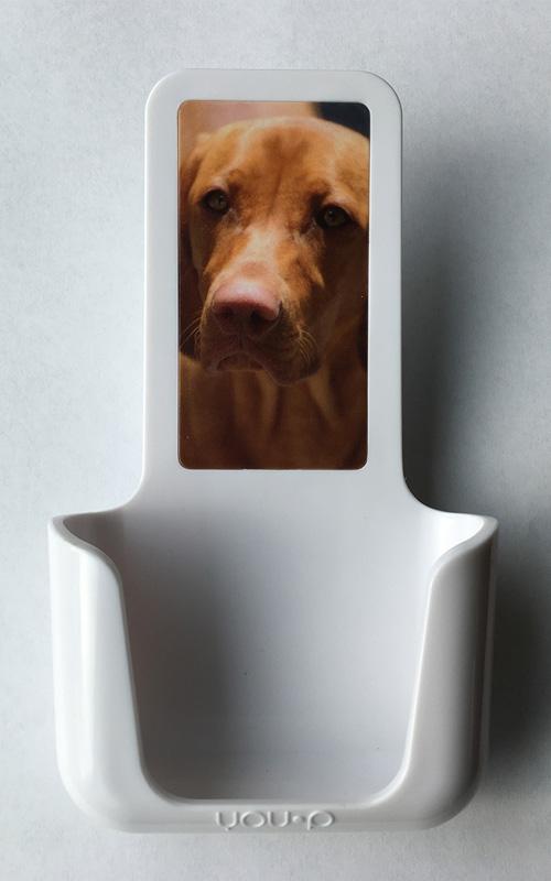 YOUP YOU-P telefoonhouder smartphone holder toilet wc keuken kitchen - Hond