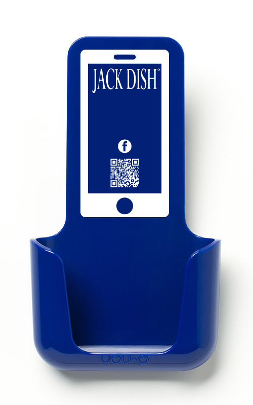 YOUP YOU-P telefoonhouder smartphone holder toilet wc keuken kitchen - Jack Dish
