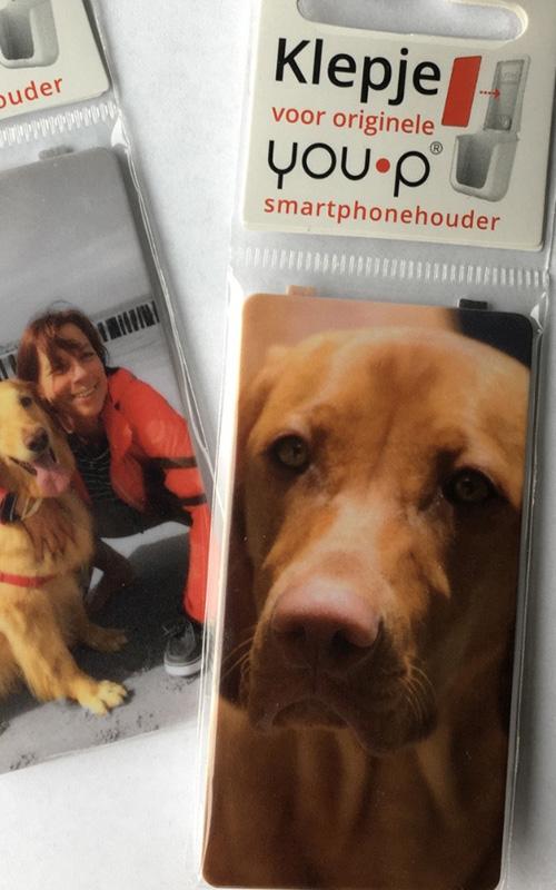 YOUP YOU-P telefoonhouder smartphone holder toilet wc keuken kitchen - Klepjes honden