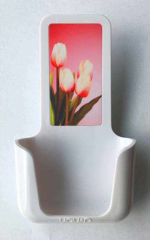 YOUP YOU-P telefoonhouder smartphone holder toilet wc keuken kitchen - Tulpen