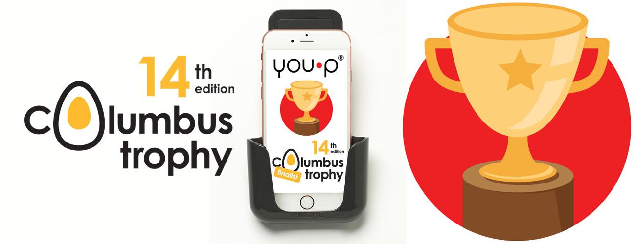 Columbus Trophy 2017 YOU·P smartphonehouder finalist
